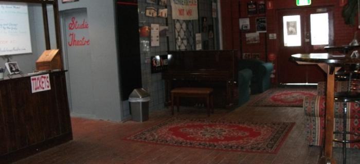 Bakehouse Theatre main foyer
