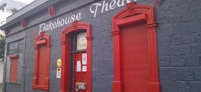 Bakehouse - closeup of entrance door